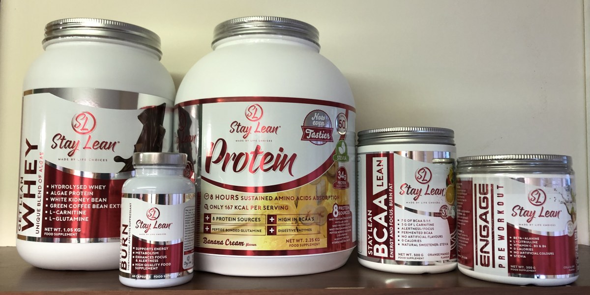 Stay Lean Product Labels