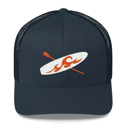 Paddleboard Trucker Hat in Navy