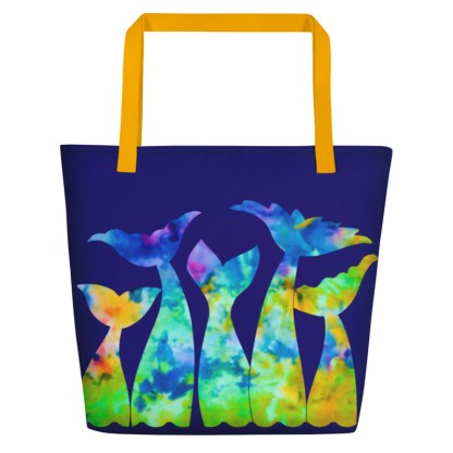 Mermaid Tails Beach Tote