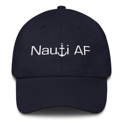 Navy Nauti AF Baseball Hat