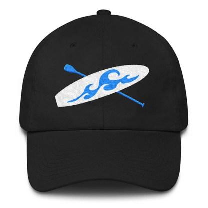 Paddle board Baseball Hat in Black