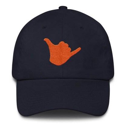 Shaka Baseball Hat Navy