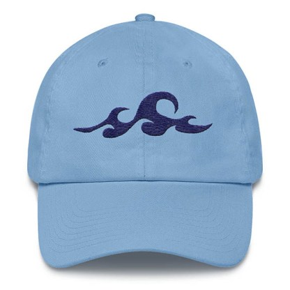 Waves Carolina Blue Baseball Hat