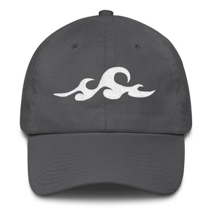 Waves Grey Baseball Hat