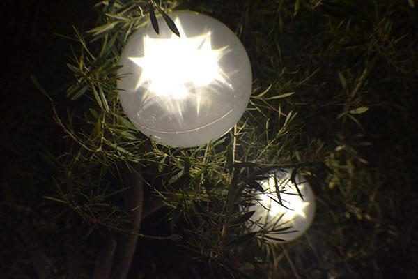 White Orb Lighting