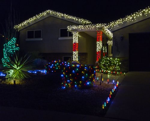 Icicle Lights, Mini Lights, Net Lights