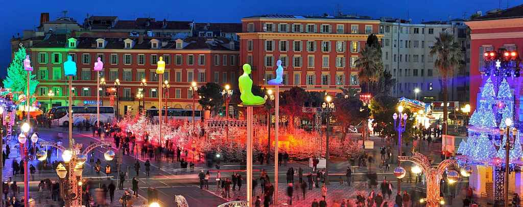 christmas market in nice france