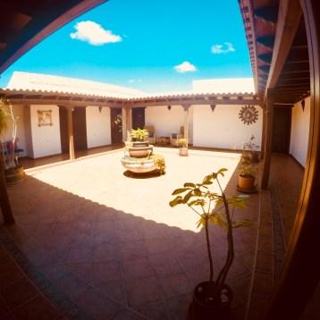 Enjoy the patio in sunny Fuerteventura