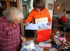 Movers helping Their senior Customers Stay at Home