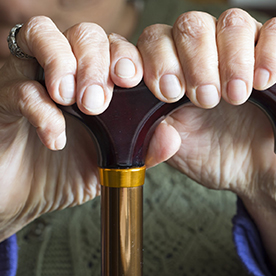 Hands of the old woman - Will We Really Be Able to Age in Place?