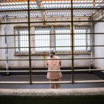 elderly woman in a japanese prison