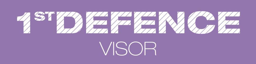1st Defence Visor Logo