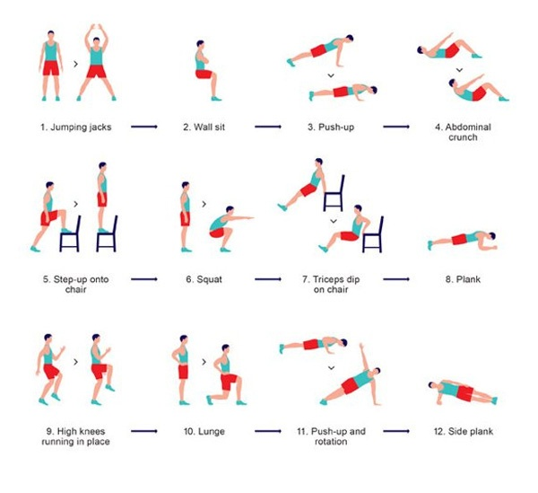 Fitness Exercises For Every Day to Stay Fit for Life