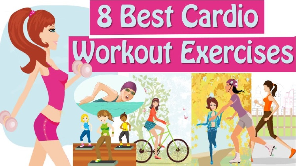 8 Effective Cardio Workout To Lose Weight & Burn Belly Fat at Home & Gym