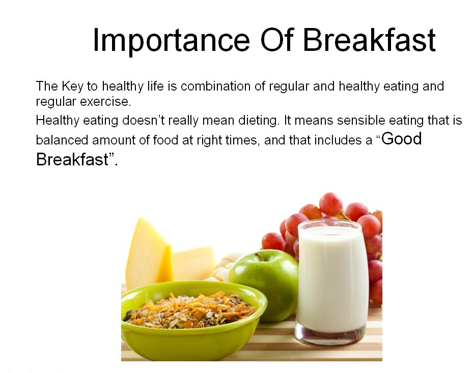 Why Is Breakfast So Important