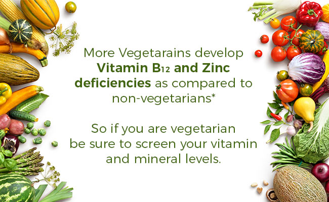 Vegetarian Diet Nutrient Deficiency