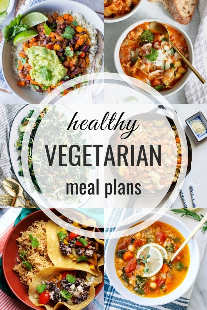 healthy vegetarian meal plans