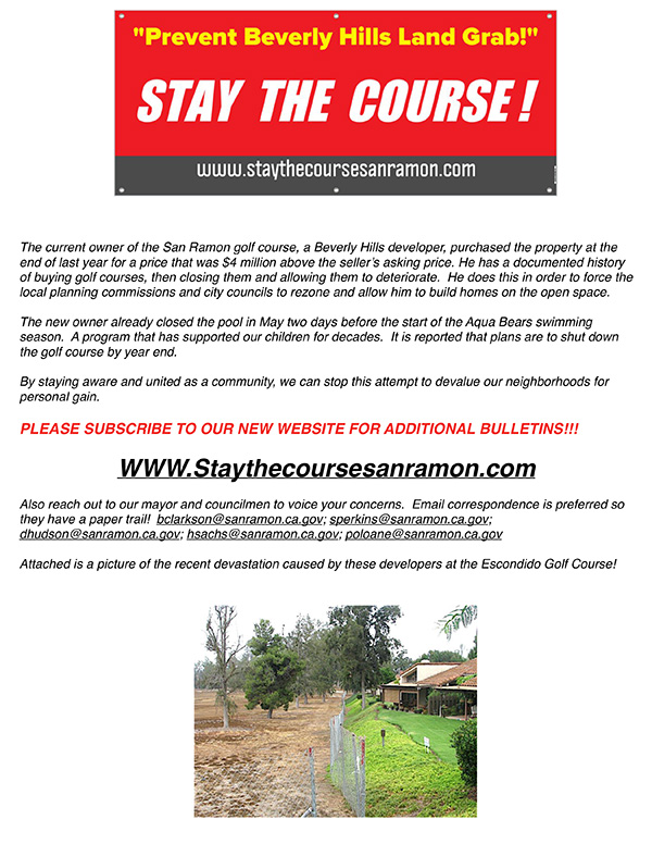 """""""Stay the Course!"""""""