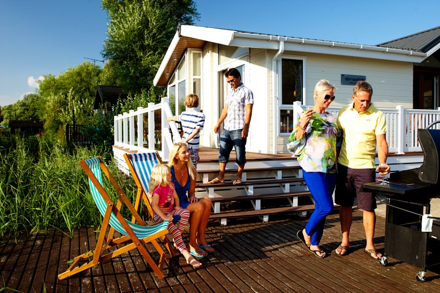 Families especially  are choosing lodges as their ideal family escape says Park Holidays UK