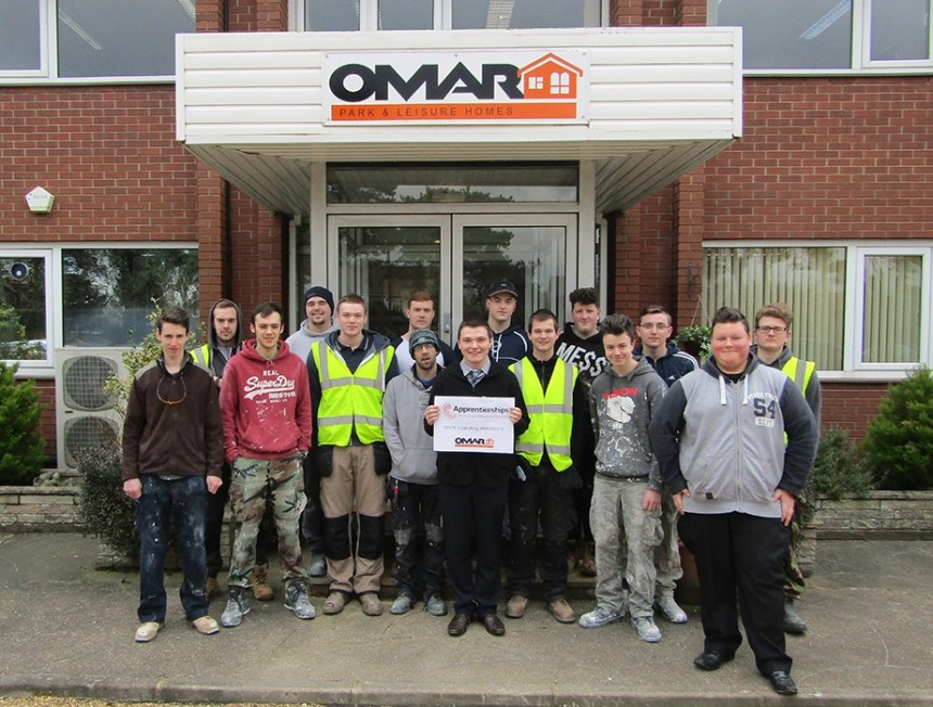 Their future is building: Omar's apprentices learn a raft of skills from high-tech to traditional artisan crafts