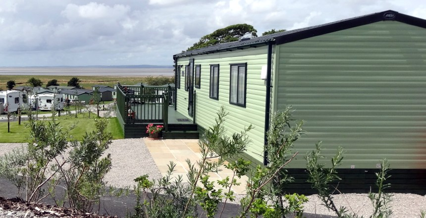 Bay View holiday park guests enjoy sweeping views across Morecambe Bay, including glorious sunsets