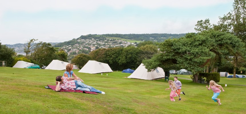 Guests at Newlands enjoy spectacular views of the Jurassic Coast and surrounding Dorset countryside