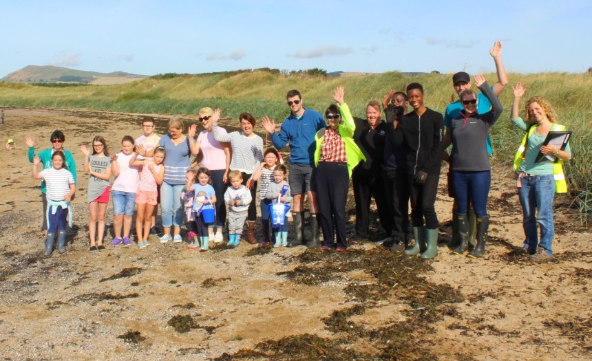Local residents teamed with holidaymakers in September for Elie Holiday Park's Wildlife Action Day