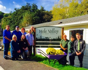 Award-winning hospitality helped win Hele Valley its accolades