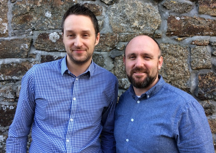 Mike Jarvis (left) and Andrew Hampton invite holiday parks to consider website priorities in their first podcast