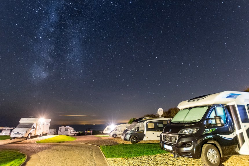 Touring guests on the parks also get to admire Dorset's clear night skies and the spectacle of the Milky Way