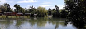 Many holiday homes at the park have views across its two fishing lakes and surrounding Suffolk countryside