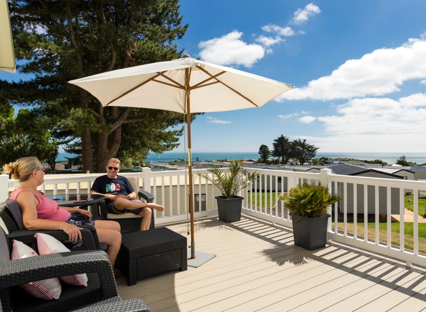 Some of the best views of the spectacular Devon coast are enjoyed by holiday home owners at Landscove