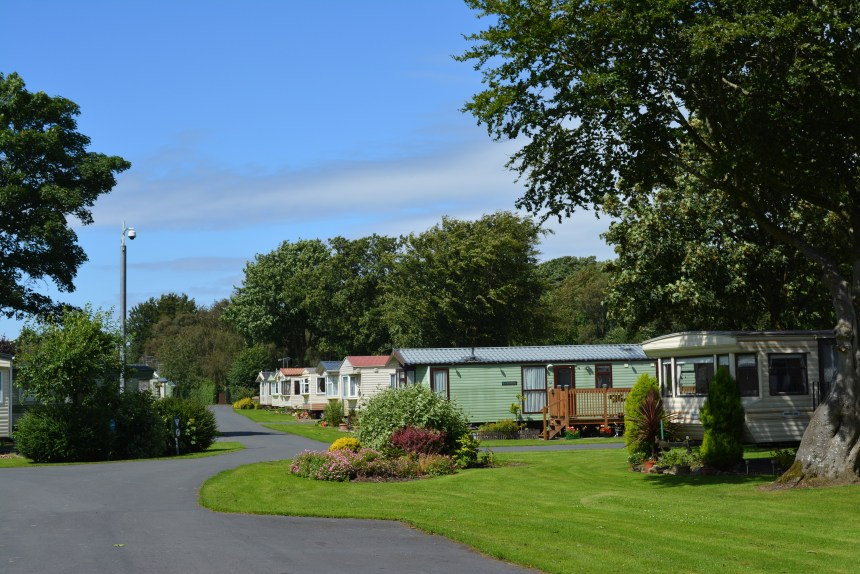 The park's idyllic hideaway setting in rural Lancashire is only a pebble-throw from many popular beaches