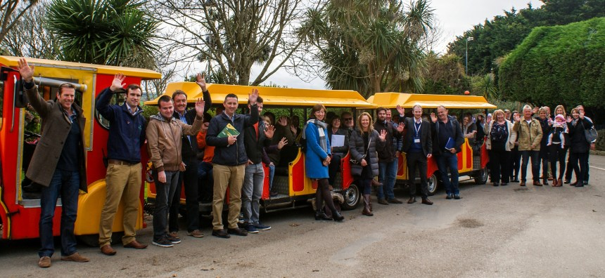 After close of business, BoB members left on a tour of Newquay's multi-award winning Hendra Holiday Park