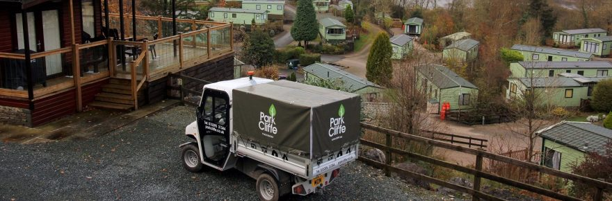 Green energy has reduced the environmental impact of getting around Park Cliffe on the shores of Windermere