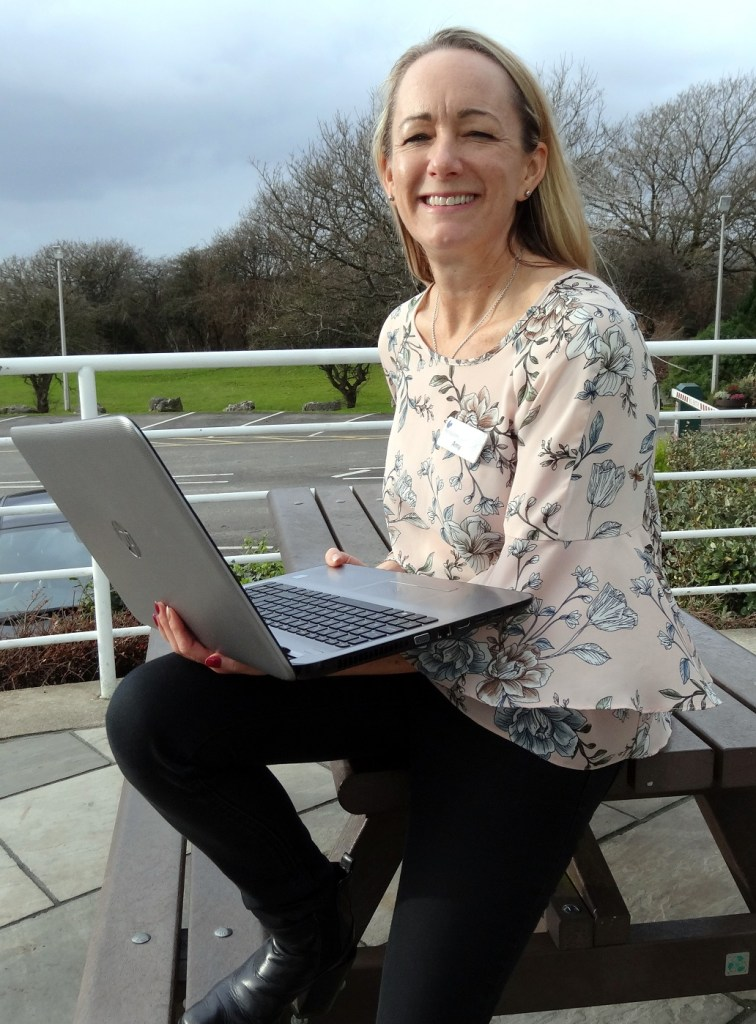 Amy Parker, the new head of HR at Holgates Parks, enjoys shooting and the great outdoors in her leisure time