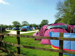 There are over 350 touring pitches on the park with countryside views