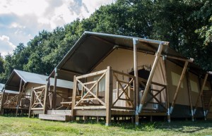 Glamping in luxury safari tents will also be an option from this spring