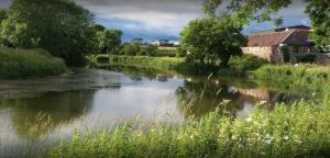 Cairnsmill Holiday Park has tranquil green surroundings