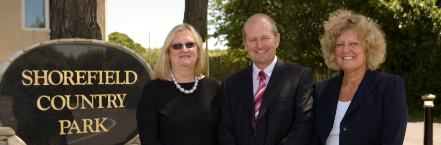 Staycations fuelling growth say Shorefield directors (from left) Sara Bertin, Simon Pollock, and Lesley Lawrence
