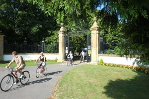 Rural rides: the park is popular with families exploring Dorset