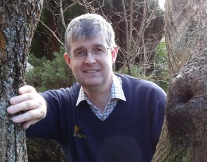 Michael Holgate says the bug houses fascinate younger guests