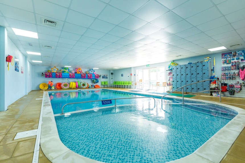 Guest facilities at Marlie Holiday Park include a popular indoor swimming pool where all ages can cool off