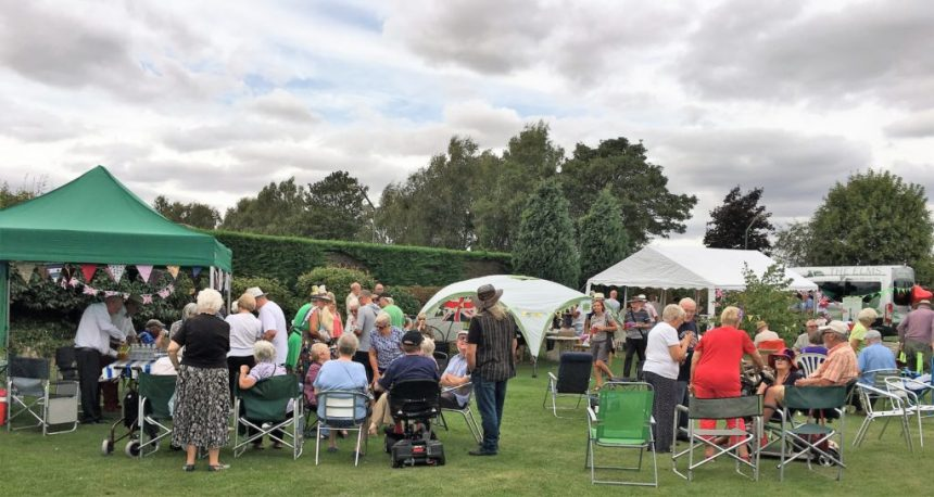 Park residents and their friends were joined by villagers from Torksey for the fundraising gala at The Elms