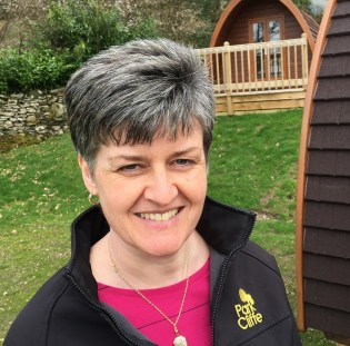 Susan Dickson says bees and butterflies also benefit from the blooms