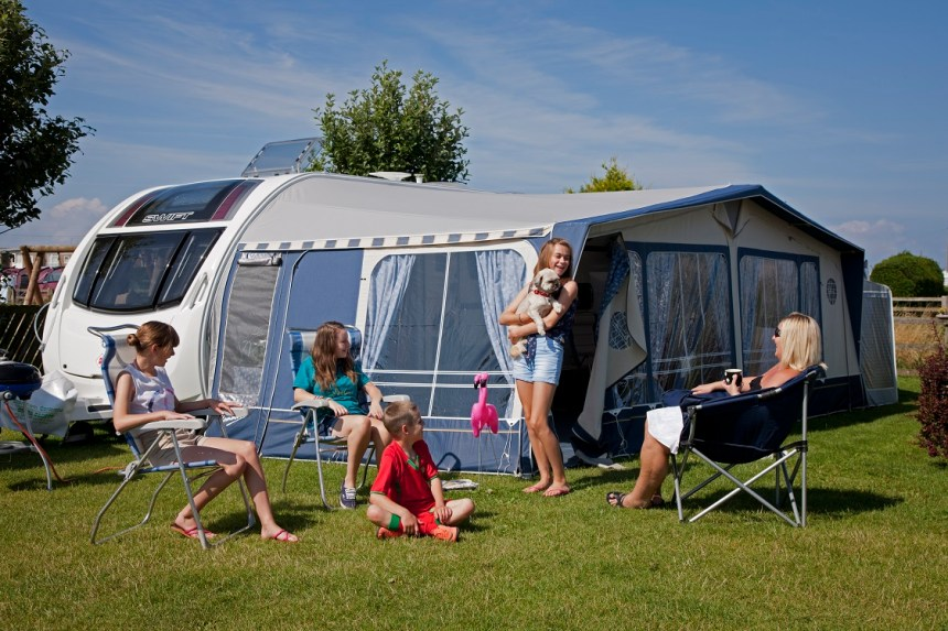 Top-rate touring pitches, luxury holiday homes, glamping, and a host of attractions won the AA's top award