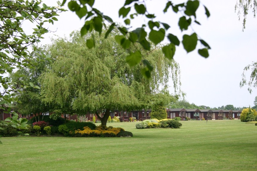 The Elms has over 300 park homes set in tranquil Lincolnshire countryside for people in or nearing retirement