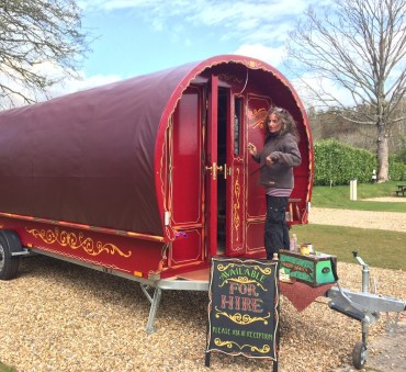 Luxury Romany caravans are also a glamping option at the five-star Dorset park