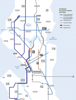Existing and Proposed RapidRide