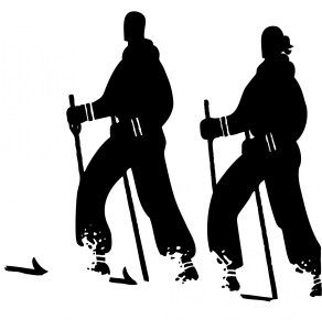 Cross Country Skiing at the Richard St. Barbe Baker Afforestation Area, Saskatoon, Sasktachewan